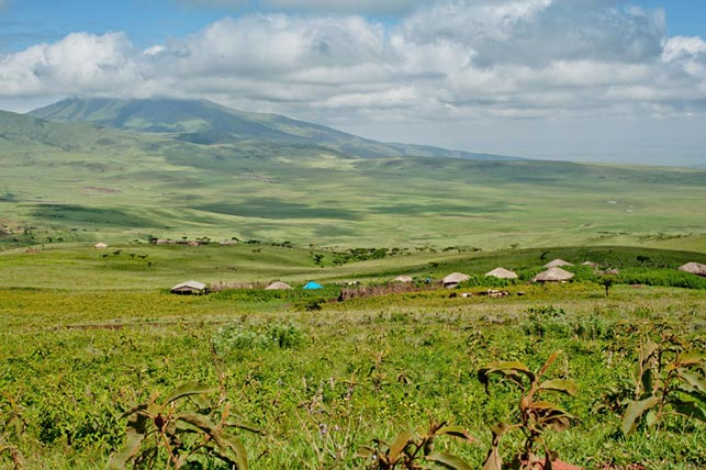 visit maasai villages in the ngorongoro highlands with allen tanzania safaris