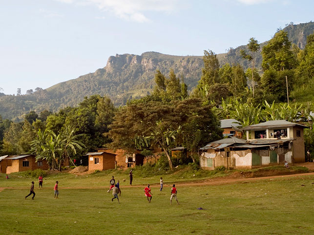 allan tanzania safaris / spot football at usambara mountains